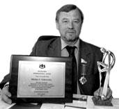 Ректор ТГУ Николай Дубровский в 2005 году, с наградой имени Сократа «Лидер ХХI столетия», привезенной из Оксфорда. Фото из архива редакции.