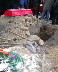 Кызыльское кладбище. Фото Надежды Антуфьевой.