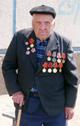 Младший сержант-артилерист Павел Гончаренко, ветеран Великой Отечественной войны.