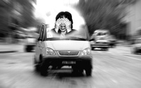 Кызыльские маршрутки: несколько минут страха. Фотоколлаж Виталия Шайфулина.