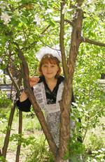 Выпускница. Фото Нади Антуфьевой (Из архива редакции).