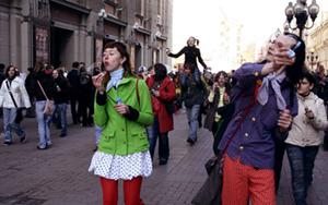 Арбат, 1 апреля. Мечты не купишь! Фото Нади Антуфьевой.