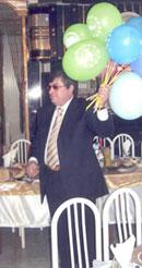 Жду гостей. Вечер для друзей в честь 55-летнего юбилея. 2005 год.